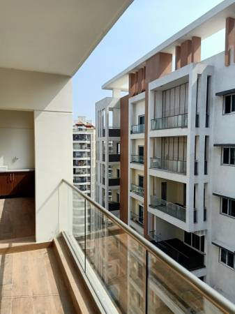3bhk Flat For Rent in DSR Prime Fortune Madhapur