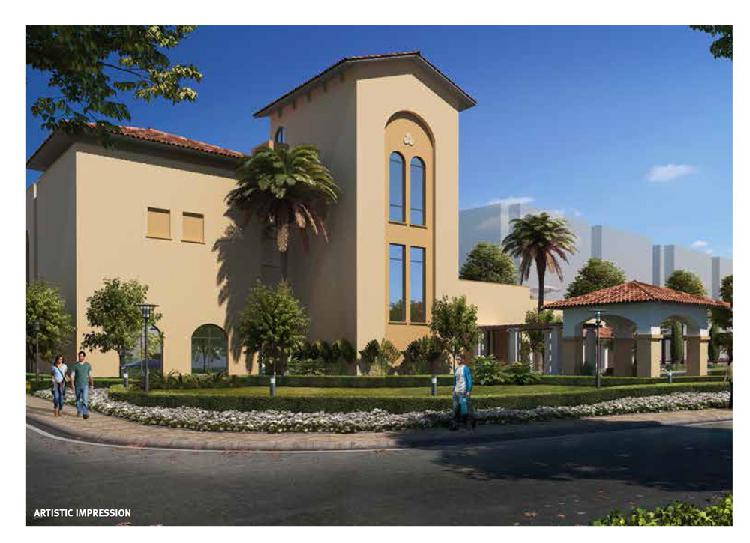 Emaar Palm Heights Premium 3BHK with Lounge Flats
