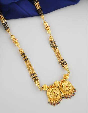 Get Online Collection of Latest Mangalsutra Designs at Low