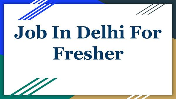 Job In Delhi For Fresher (Hiring Now) January  | BigLeep