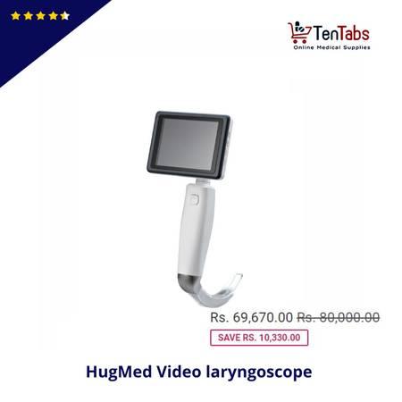 Buy HugeMed Video Laryngoscope online From TenTabs
