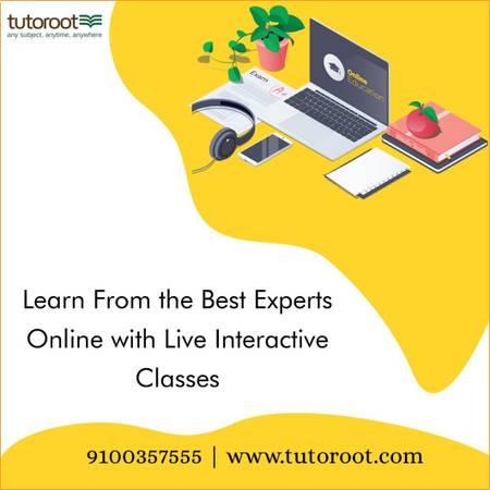 Tutoroot - Online Classes for IIT JEE, NEET, UPSC, IAS