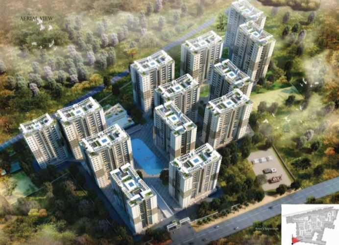 Prestige Royal Garden Ready to move in 2 BHK property