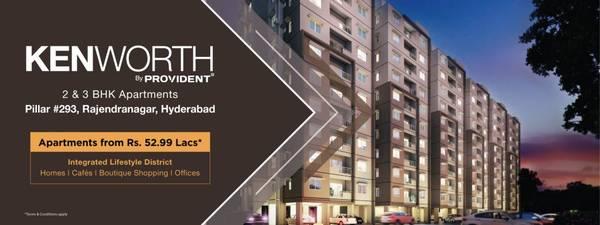 Rajendra Nagar, 2 BHK & 3 BHK Flats in Hyderabad   Provident