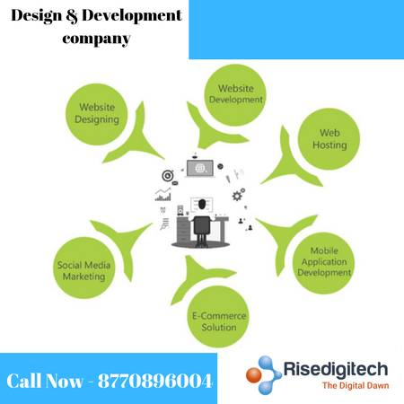 Website design and development services in Indore