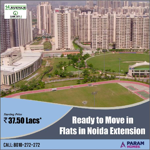 Gaur City 14th Avenue Ready to Move Flats