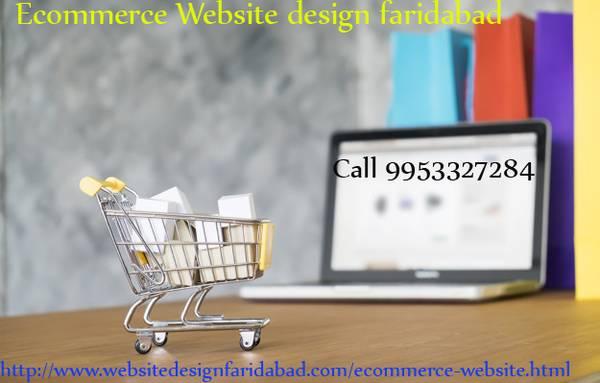 ecommerce website design faridabad