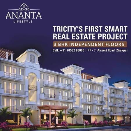 Buy Residential apartment and Floors for sale in zirakpur