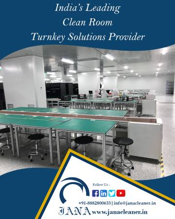 Clean Room Turnkey Solutions in India