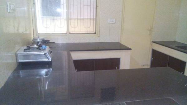 Furnished 1 room kitchen available for Rs. p.m. with 3