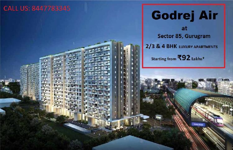 Godrej Air in Sector 85 Gurugram The City of progression