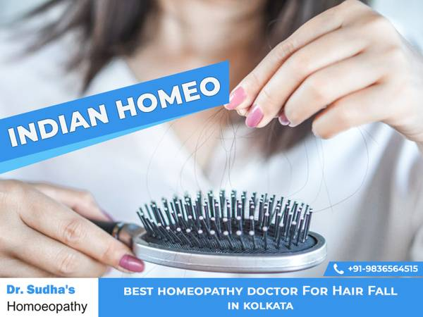 best homeopathy doctor for hair fall in Kolkata