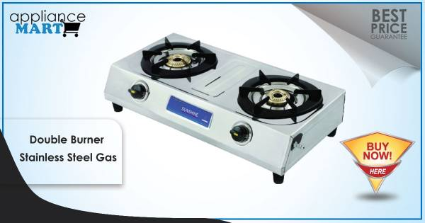 Buy Four Burner Stainless Steel Gas Stove Online
