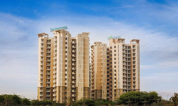 Experion Heartsong Ready to movein 3BHKSQ ACs Flat