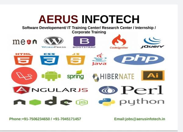 Best Angular JS Classes in Thane-AERUS INFOTECH with