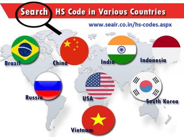 Know the List of Hs Codes of Your Product
