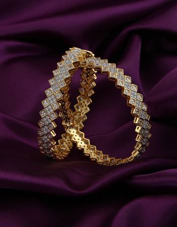 collection of diamond bangles for women