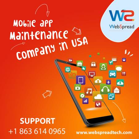 Mobile App Maintenance Company in USA | India