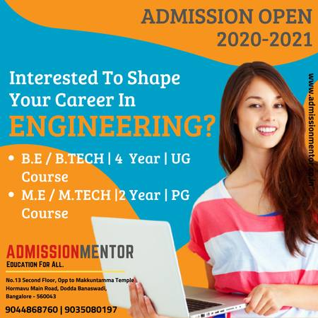 Direct admission in top colleges of bangalore