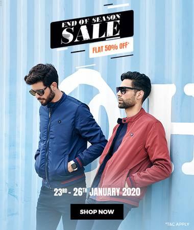 Mufti Republic Day Sale-Flat 50% Off–Limited Period