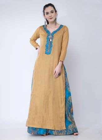 Buy Ethnic Wear Georgette A-Line Kurta Online at Best Price