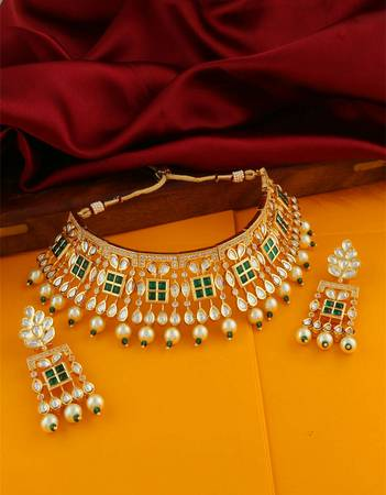 Check out the latest collection of bridal jewelry sets