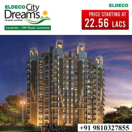 Eldeco City Dreams - 1 & 2BHK Flats at IIM Road