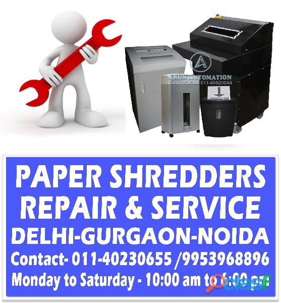 Paper Shredder Machine Repair in Delhi