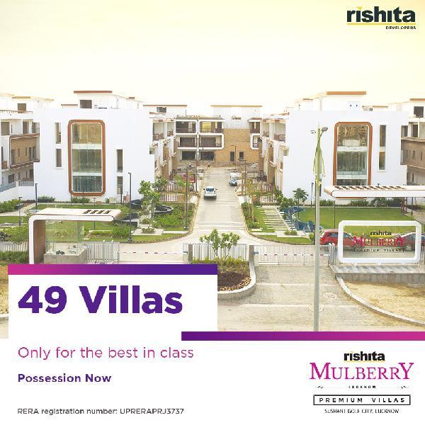 Rishita Mulberry Luxury Designer Villas in Lucknow