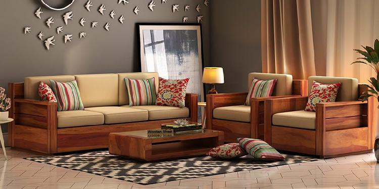 New Range of Sofa sets in Ahmedabad Online at Woodenstreet