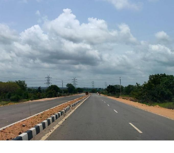 Commercial land for sale in Bachupally-Miyapur Road