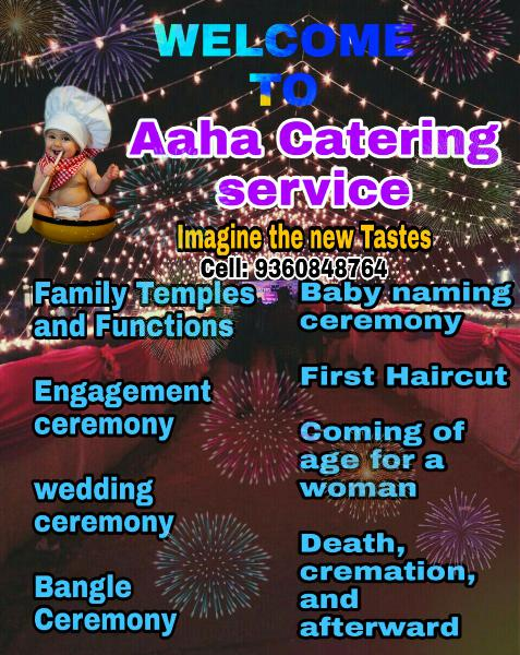 Event management catering service Weeding caters pondy