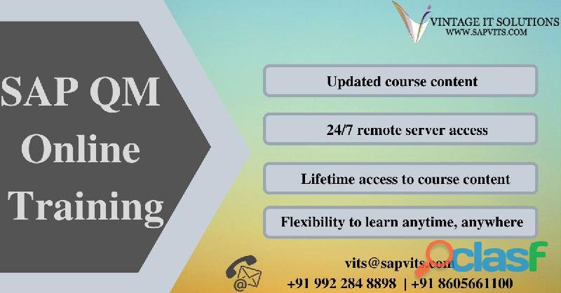 sap quality management training | sap qm online training