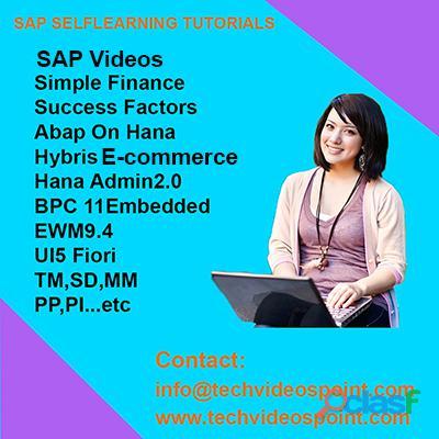 SAP VIDEOS TUTORIALS