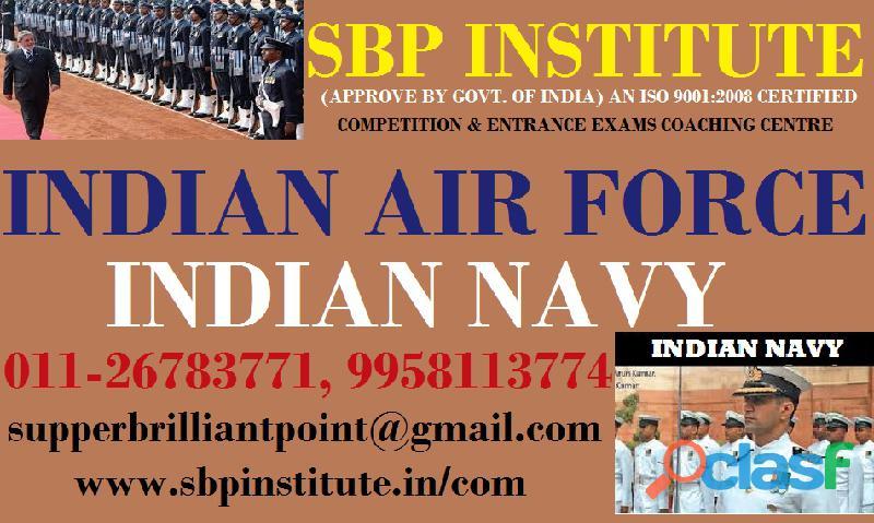 Air Force Coaching in Delhi | Sbp Institute of Professional