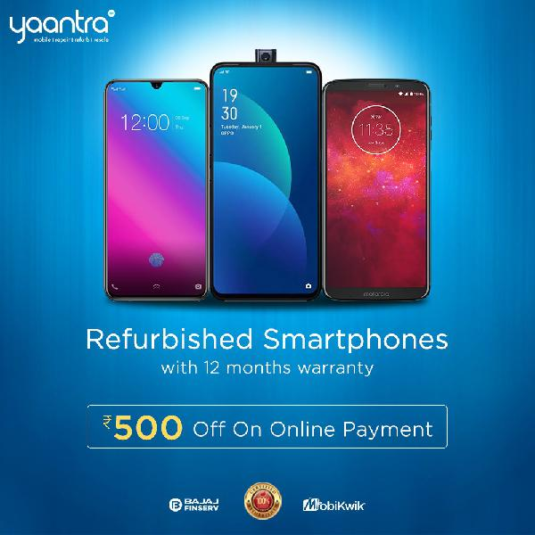 Buy Certified and Authenticated Refurbished Mobile Phones