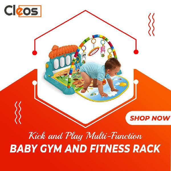 Kick and Play Plastic Piano Baby Gym Big Size Cleos