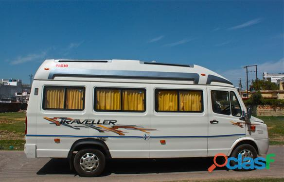 Tempo Traveller For Rent in Lucknow