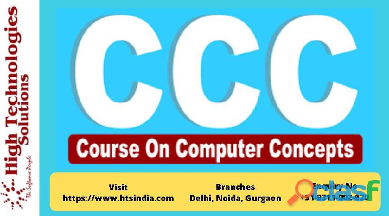 Advanced CCC Training in Delhi