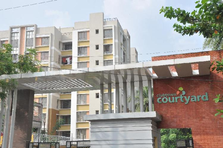 2 BHK flat in CLUB TOWN COURTYARD New Town on sale