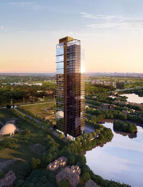 4 BHK flat in TRUMP TOWER E M Bypass Kolkata on SALE