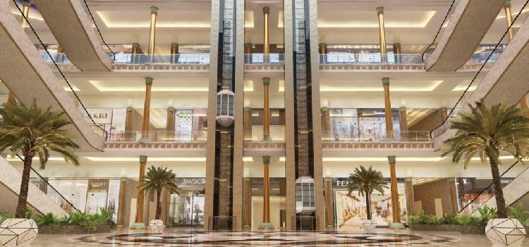 Ekana Mall LKO Retail Space with 12 Percent Assured Return