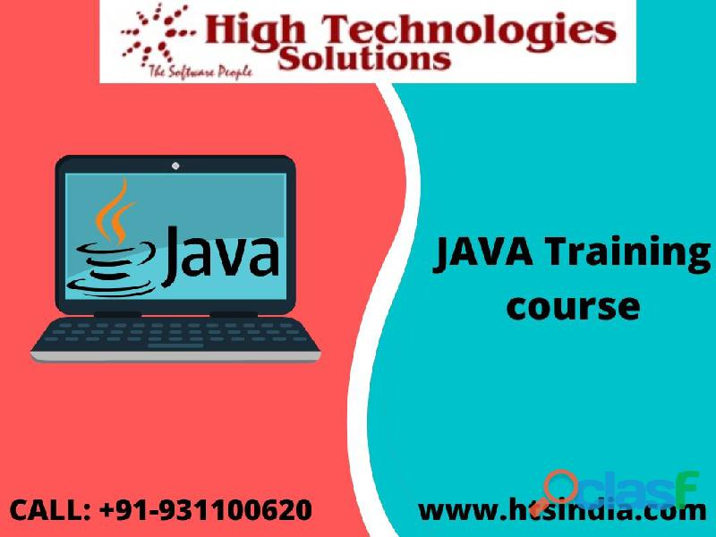 Trained from HTS India in Java course