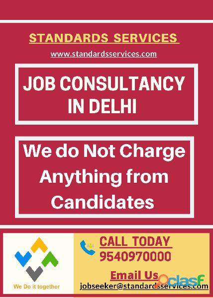 Job Consultancy in Delhi