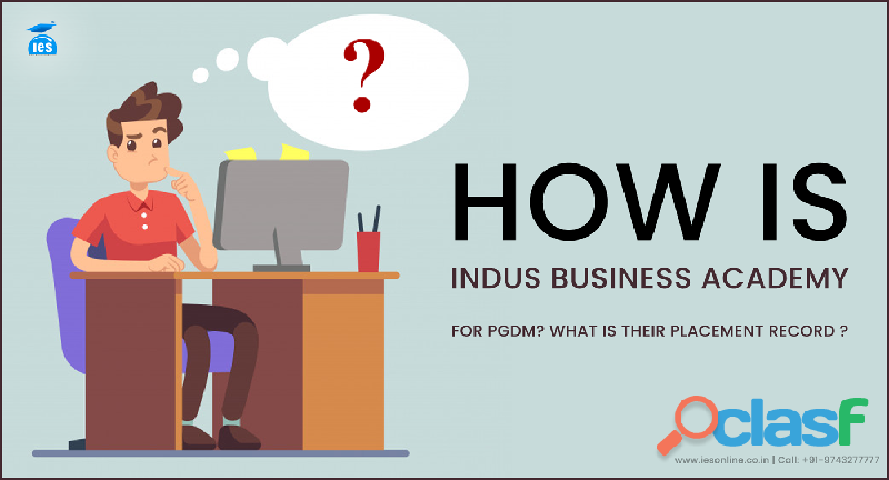 placement record in Indus Business Academy, Bangalore for