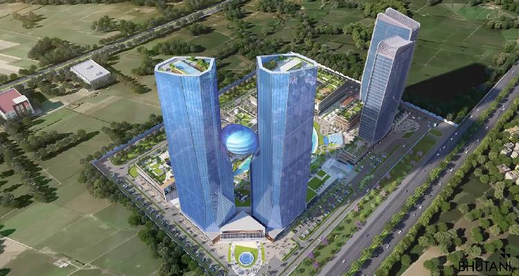 Bhutani Cyberthum Office Space Rs 13 Lac 8750588688