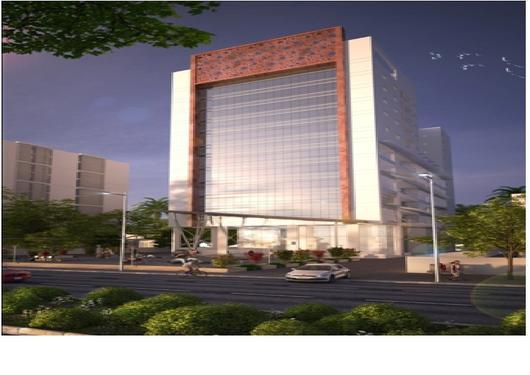New 11800sft commercial showroom space for rent in hebbal