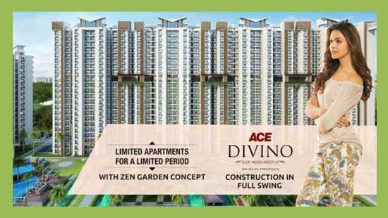Ace Divino Luxury Apartment Starting Price 35 L