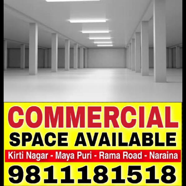 Commercial Office Space Available For Rent in Moti Nagar