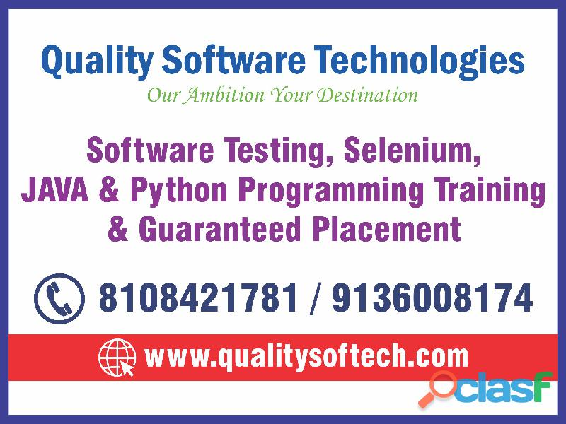BEST PYTHON COURSES TRAINING IN THANE at QUALITY SOFTWARE